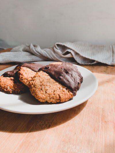Biscuits suédois avoine & chocolat noir